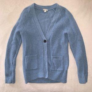 Gap Light Blue Cardigan Sweater